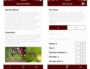 Zika app from Texas A&M engages the public in mosquito containment efforts