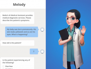 Baidu builds a chatbot app to perform basic medical triage