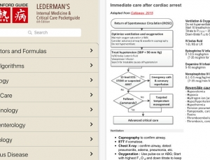 Review of Lederman's Internal Medicine and Critical Care medical app