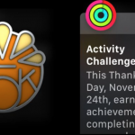 apple thanksgiving badge