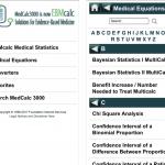 ebmcalc statistics app