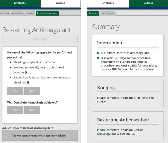 bridgeanticoag app