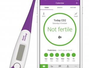 A fertility app that utilizes algorithms to help with getting pregnant
