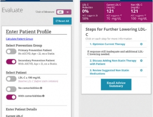MD Tech Tips: Determine if you should start a patient on Statin therapy using the ACC's app