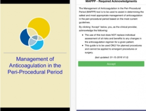 Managing Anticoagulation in the Periprocedural Period (MAPPP) App: A Worthy Alternative to the ACC's BridgeAnticoag App?