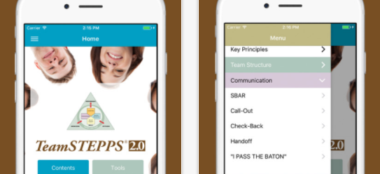TeamSTEPPS 2.0 App: Evidence Based Principles and Practices to Improve Communication and Patient Safety