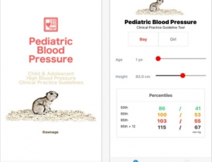 Pediatric Blood Pressure App Brings Recent Guidelines to Life But Its Pressure Is Low