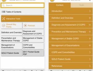 COPD App Review: The GOLD 2017 Pocket Guide