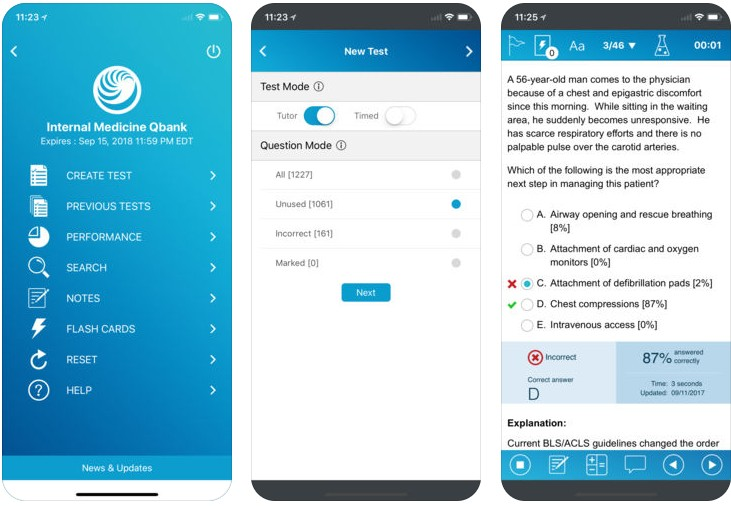 Taking Board Exams? Try the UWorld Family Medicine Prep App