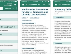 Review: ACP Guideline App