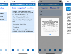 CDC Anticoagulation Manager: A Must-Have App for Prescribing and Managing Anticoagulation