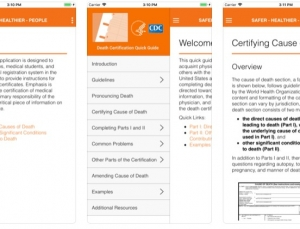 CDC Death Certificate Review: A Useful App for Death Pronouncement