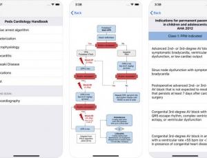 Peds Cardiology Handbook App Review