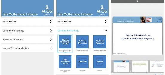 Safe Motherhood Initiative App Review: Outstanding Quick Reference