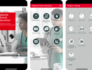 Edwards Clinical Education App Review