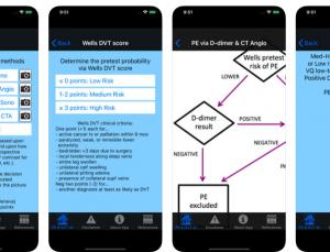 PE & DVT Dx Tool App Update Review