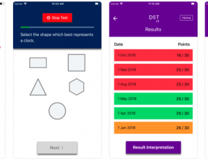 Dementia Screening Tool (DST) Medical App Review