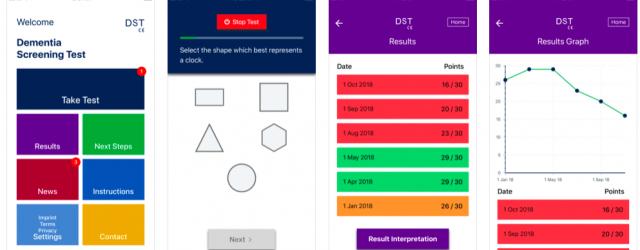Dementia Screening Tool (DST) Medical App Review