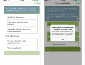 PATH Frailty App Review