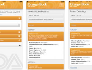 FDA Orange Book Express 2.0
